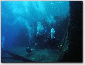 Главная терраса подводного города.