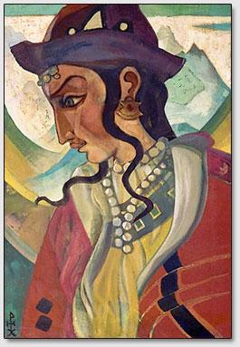 """""""Атлант"""", картина Н.К.Рериха"""
