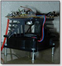 Принудительное охлаждение транзистора