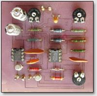 Схема кирлиан-прибора по варианту 4 в собранном виде