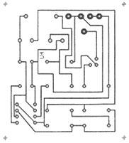 Схема сборки кирлиан-прибора для варианта 3 (1:1 при разрешении монитора 1024 х 768)
