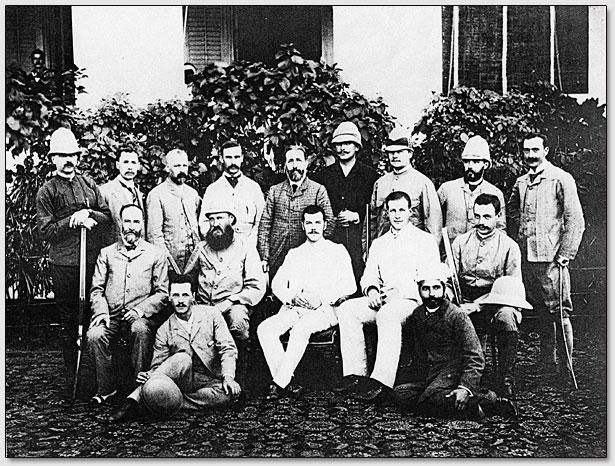 Мадрасская группа наследника Цесаревича со спутниками по Индии.